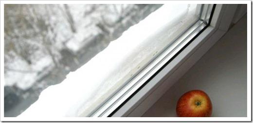 Как утеплить стеклопакеты на зиму?