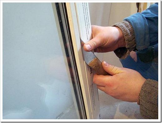 Как утеплить стеклопакеты своими силами?