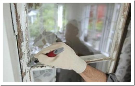 Как покрасить деревянные окна?