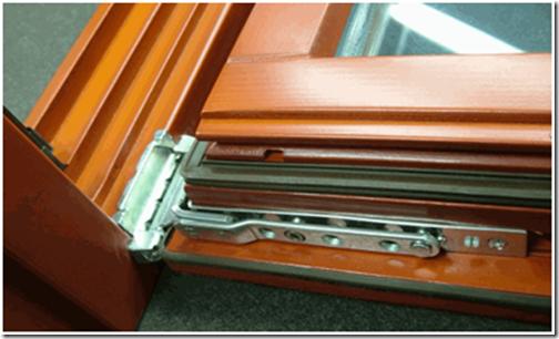 Установка фурнитуры на деревянные окна