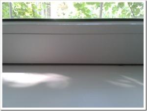 Дует из подоконника пластикового окна