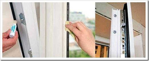 Замена уплотнителя пластикового окна.