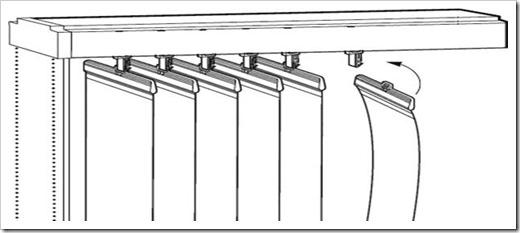 Вертикальные жалюзи как крепить