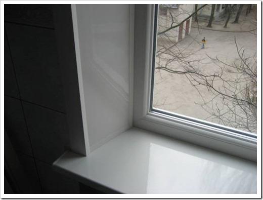 Монтаж откосов на пластиковые окна.