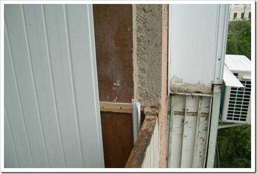 Демонтаж балконного остекления