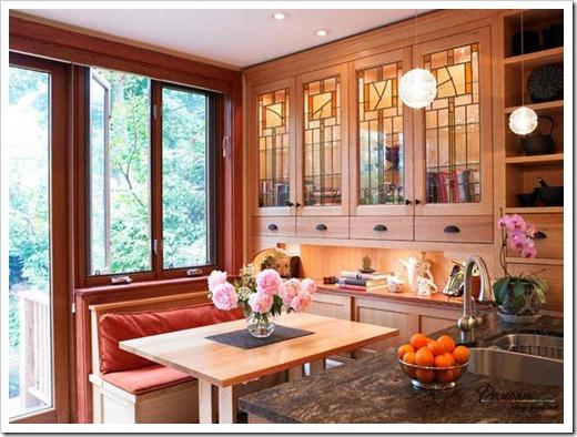 Витражи для кухонных фасадов
