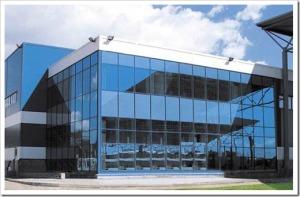 Технология остекления фасада