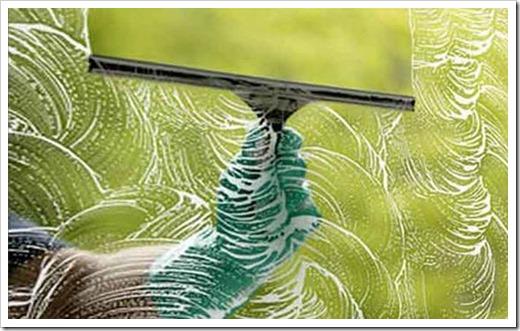 Чем отмыть стеклопакеты?