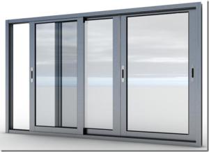 Как собрать алюминиевые раздвижные окна?