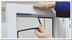 Утепление стеклопакета на зиму уплотнителем