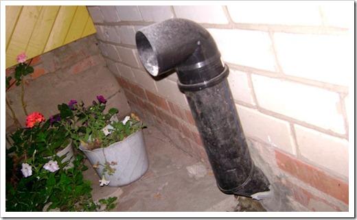 Некоторые нюансы организации приточной и вытяжной трубы