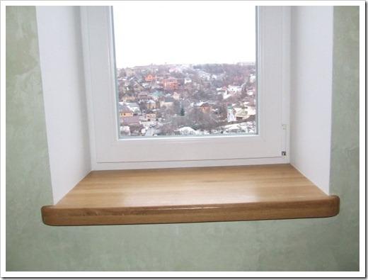 Монтаж подоконника в бетонной стене