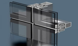 Монтаж фасадного остекления