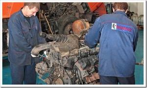 Различные виды ремонта КамАЗов