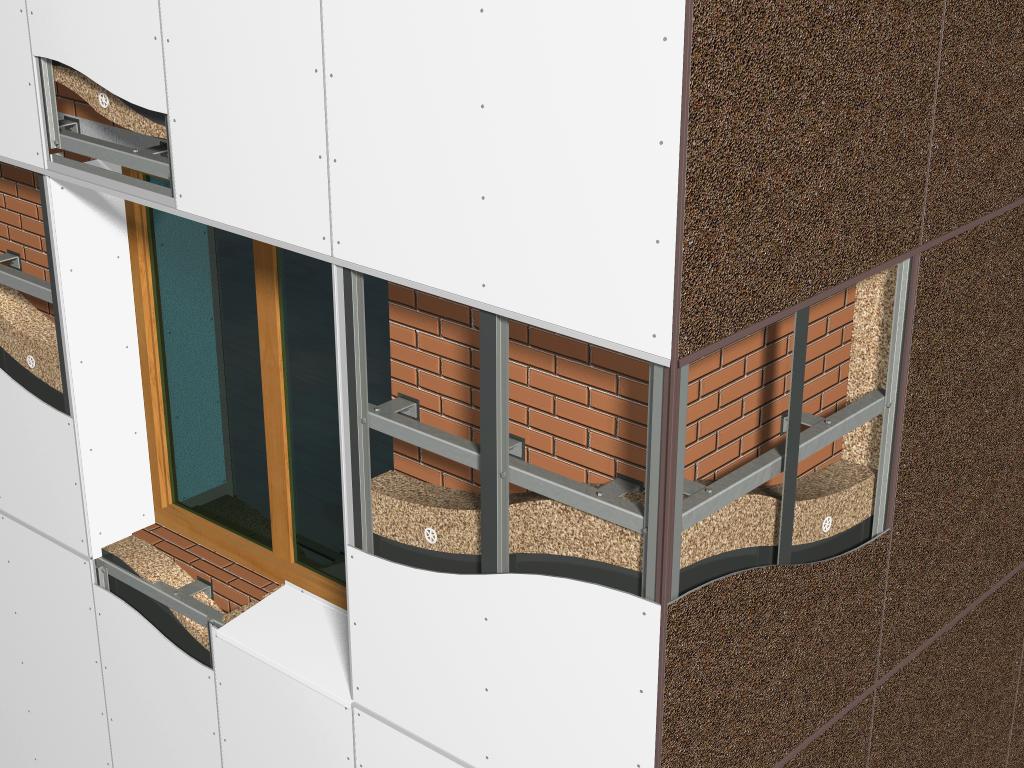 Преимущества и недостатки вентилируемого фасада