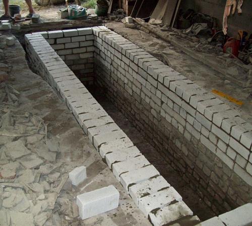 Смотровая яма строим сами