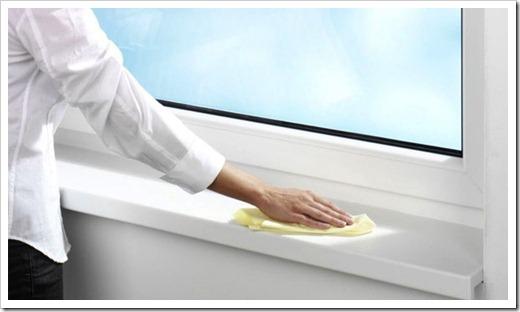 Мытьё стеклопакета: различные варианты