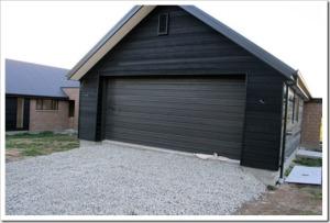 Организация гаража при помощи арболитовых блоков