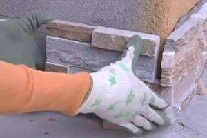 Как уложить искусственный камень