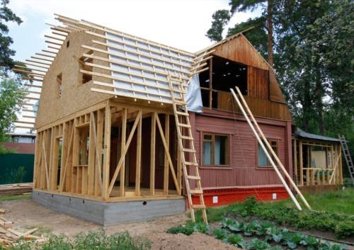 Инструкция по строительству пристройки к дому
