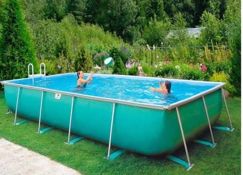 Дачный бассейн