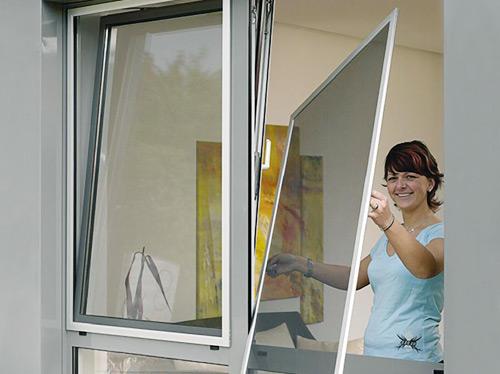 Сетка на окно ПВХ