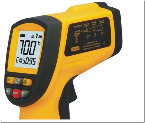 Основные принципы измерения температуры при помощи пирометра