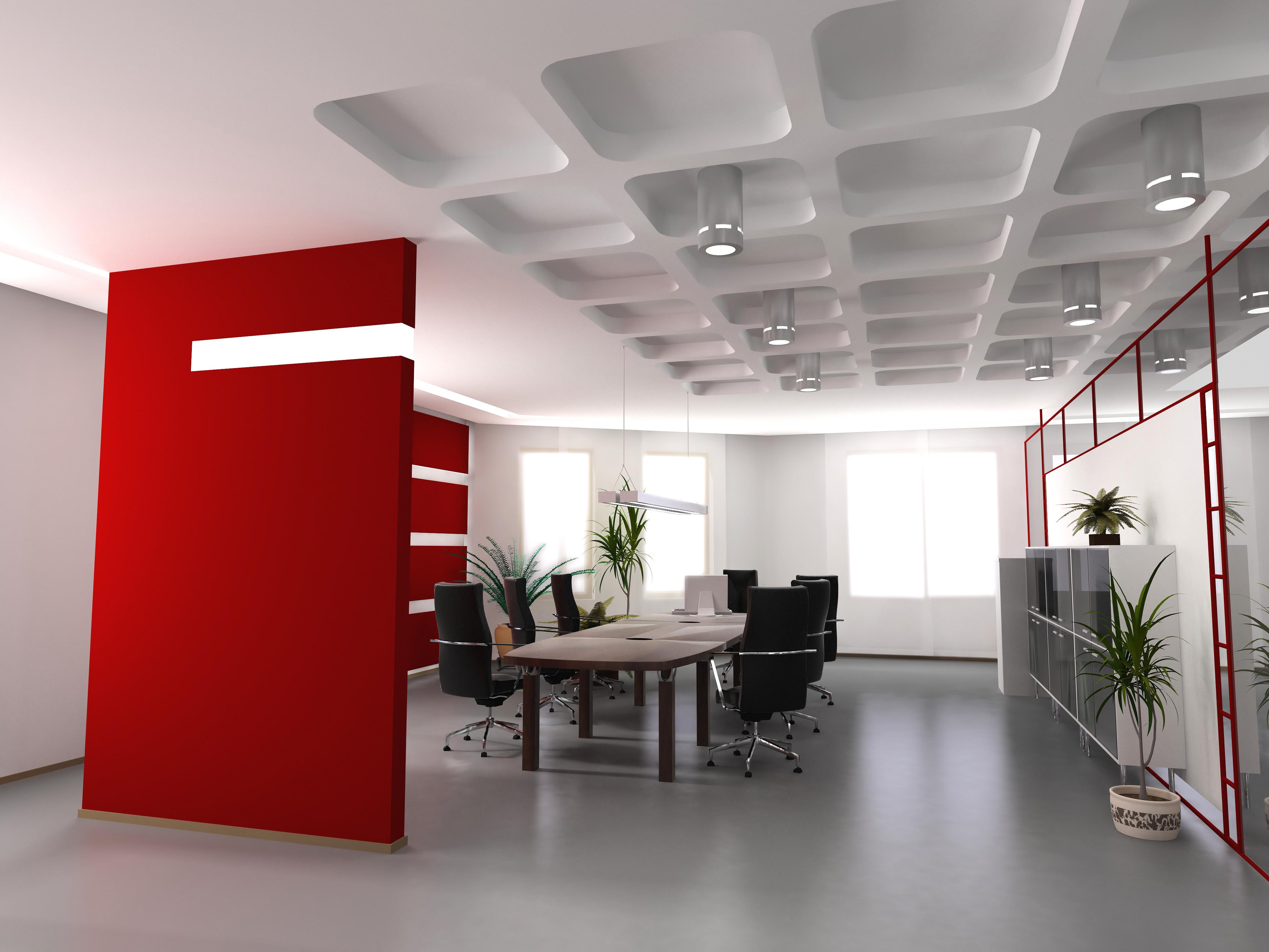 Как сделать ремонт офиса