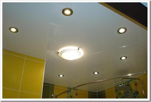 Где лучше всего располагать потолочные светильники?