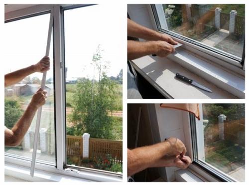 Как снять стекло из пластикового окна своими руками 955