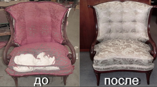 перетяжка до и после