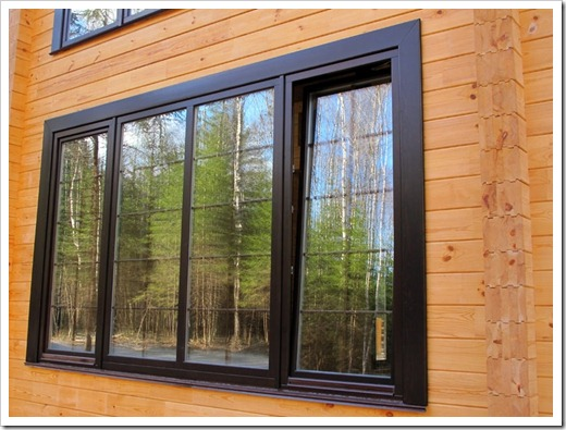 Почему утеплить алюминиевые окна не представляется возможным?