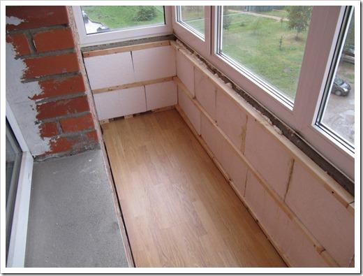 Способ утепления балкона