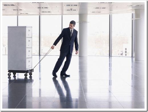 Тонкости офисного переезда