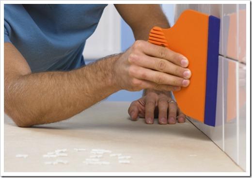 Обеспечение одинакового расстояния между плитками
