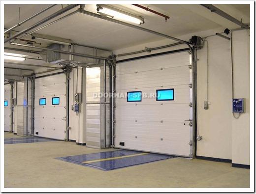 Преимущества использования секционных ворот для гаража