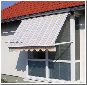 Положительные аспекты использования маркиз на окнах