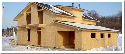 Каркасное жильё – СИП панели, как частный случай