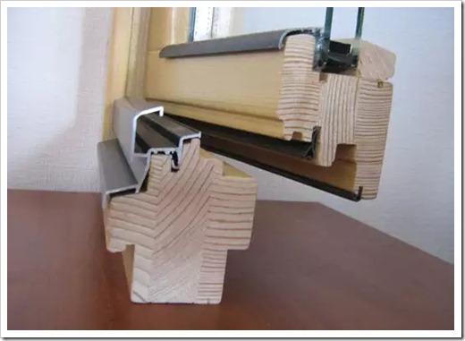 Вырезаем стеклопакет из рамы
