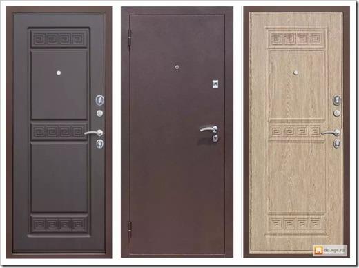 Фурнитура также влияет на надёжность входной двери