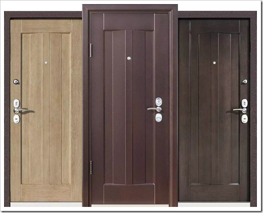 Материал входной двери