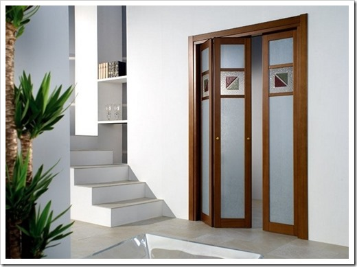 межкомнатные двери типа гармошка