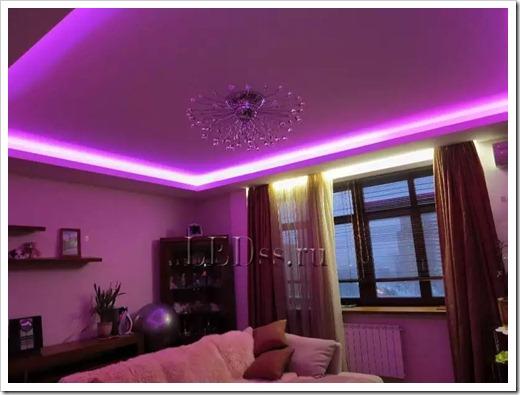 Использование светодиодных ламп