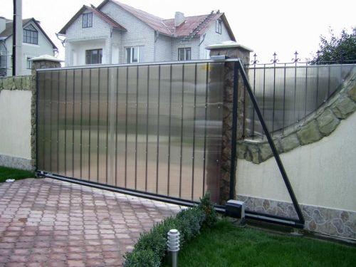 Монтаж автоматики для откатных ворот