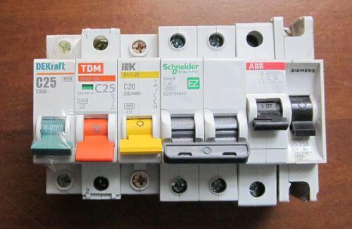 Какие автоматические выключатели выбрать