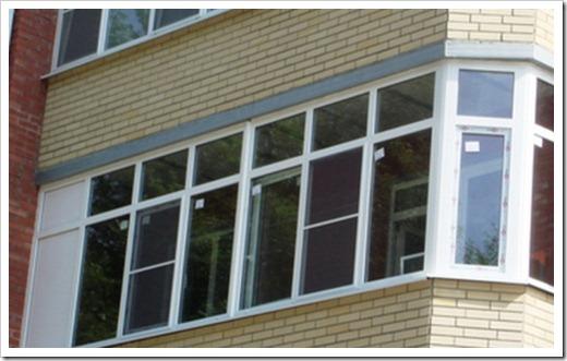 Принципы установки балконной рамы