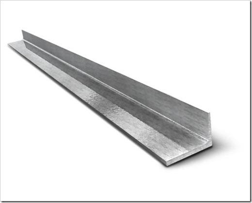 Производство и область использования стального равнополочного уголка