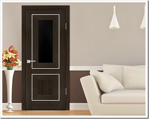 двери с покрытием экошпоном