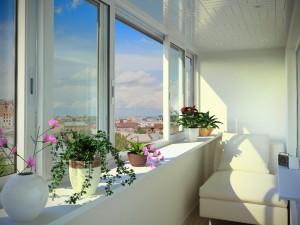 Остекление балконов: алюминий или пластик - что лучше