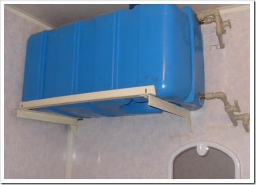 Удобные ёмкости для хранения запаса воды